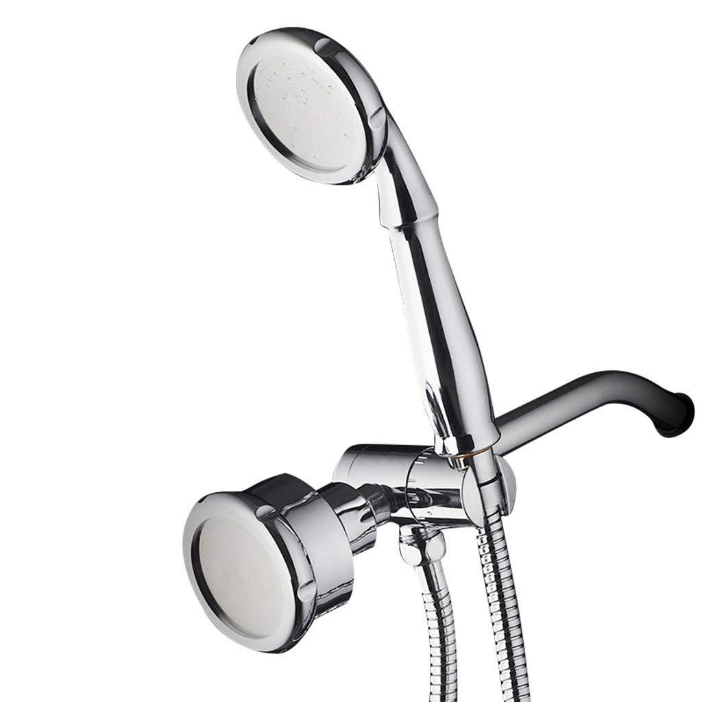 Naladoo Dual Head 3 Way Shower Head Handheld Combo Setting Rainfall Water Spray Hand Dua by Naladoo Home