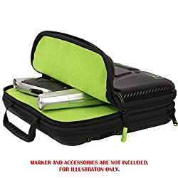 Exalt Paintball Carbon Series Marker Case / Gun Bag - Black / Lime