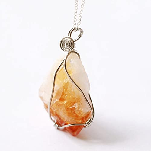 Amazon citrine necklace raw crystal necklace natural crystal citrine necklace raw crystal necklace natural crystal necklace gemstone necklace raw quartz necklace natural stone necklace aloadofball Gallery