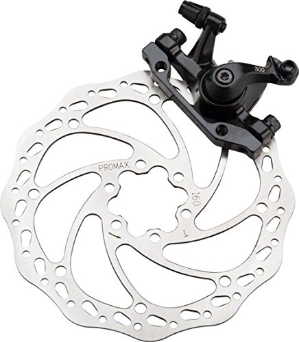 Promax DSK-300 Front Mechanical Disc Brake IS Mount With 160mm Rotor Black by Promax