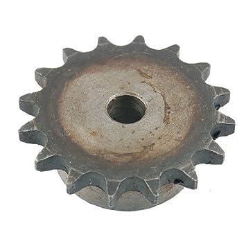 DealMux guía de diámetro interior 16 dientes de la cadena de rodillos motrices Piñón 48mm x 74mm: Amazon.es: Coche y moto