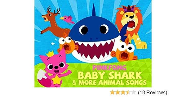 baby shark more animal songs pinkfong