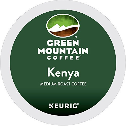 Green Mountain Coffee Roasters Kenya Highlands Keurig Single-Serve K-Cup Pods, Medium Roast Coffee, 24 Count