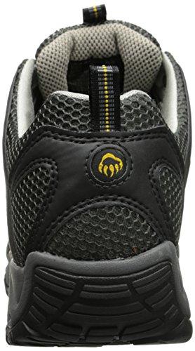 Men's Shoe Wolverine Black Safety Amherst Toe dnaqxgar