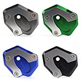 Tmsinchina Side Stand Kickstand Support Plate Foot Pads For 2017-2018 Kawasaki Z900 Z650 (Green)