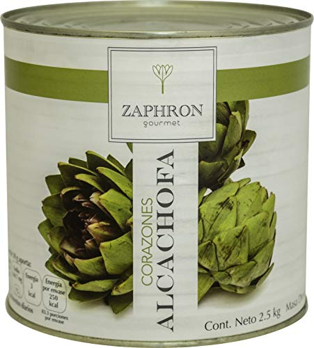 Zaphron Gourmet Corazones de Alcachofa, 2.5 kg