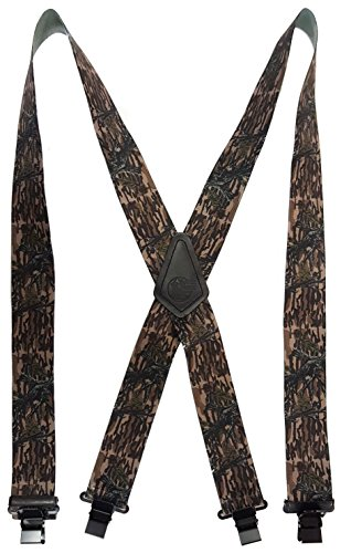 MOSSY OAK CAMOUFLAGE - USA MADE CUSTOM SUSPENDERS - 2