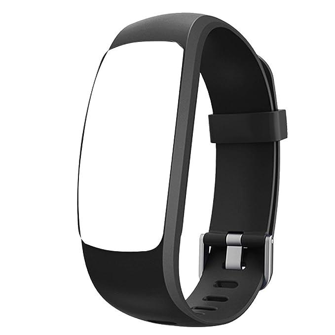 Bracelet de Rechange pour Montre Connectée Willful SW331 (Noir): Amazon.fr: Jardin
