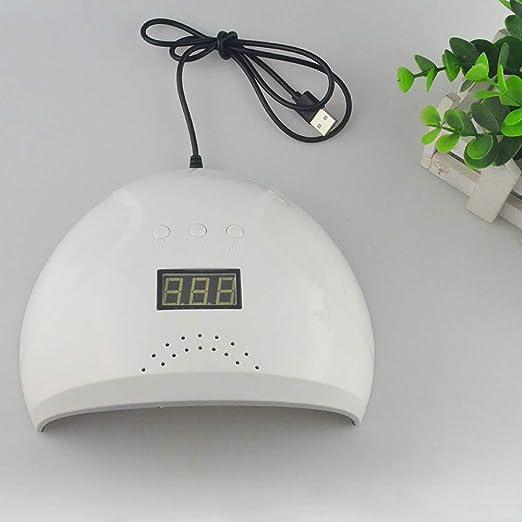 T-RFY Secador de uñas Inteligente portátil USB inducción de Secado rápido lámpara de Hornear para Gel Polaco Ajuste del Temporizador con Sensor automático ...