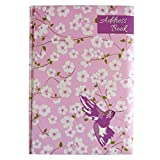 A5 Stylish, Padded A-Z Address Book - Hummingbird and Flowers Design - Size 8.3' x 5.8'