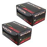 Sunlite Mountain Bike Inner Tubes 26'' x 1.50-1.95'' Schrader Valve - 2-PACK