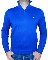 Lacoste Men's Jersey Zip-neck Sweater