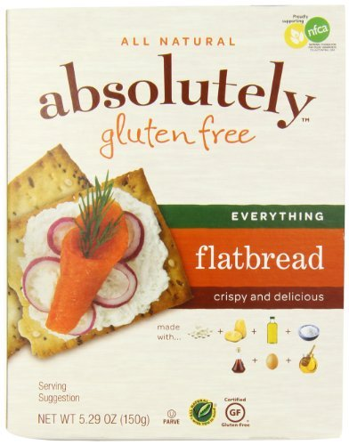 Absolutely Gluten Free Everything Flatbread, 5.29 Ounce by Absolutely Gluten Free
