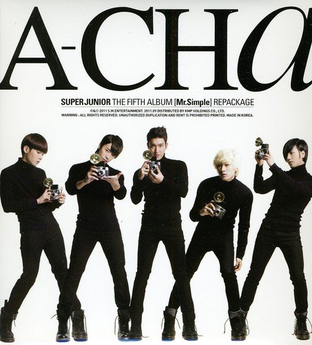 CD : Super Junior - A-Cha (Asia - Import)