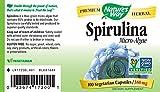 Nature's Way Spirulina Capsules, 380 mg, 100-Count