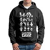 WANG B01II1RWTE Mens Hip Hop Hooded Sweatshirt