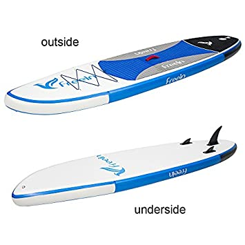 Freein All Round Stand Up Paddle Board Inflatable SUP 6 Thick Isup Package