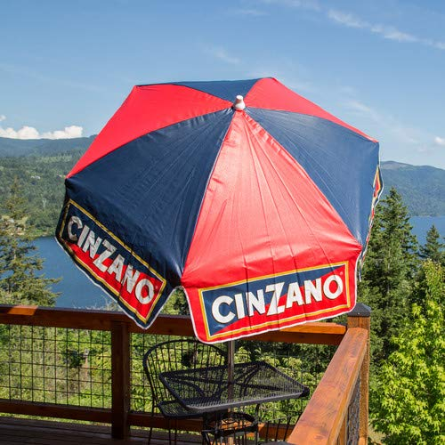 Jur_Global 6' Cinzano Vinyl Umbrella Patio Pole