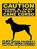 CANE CORSO DOG SIGN 9