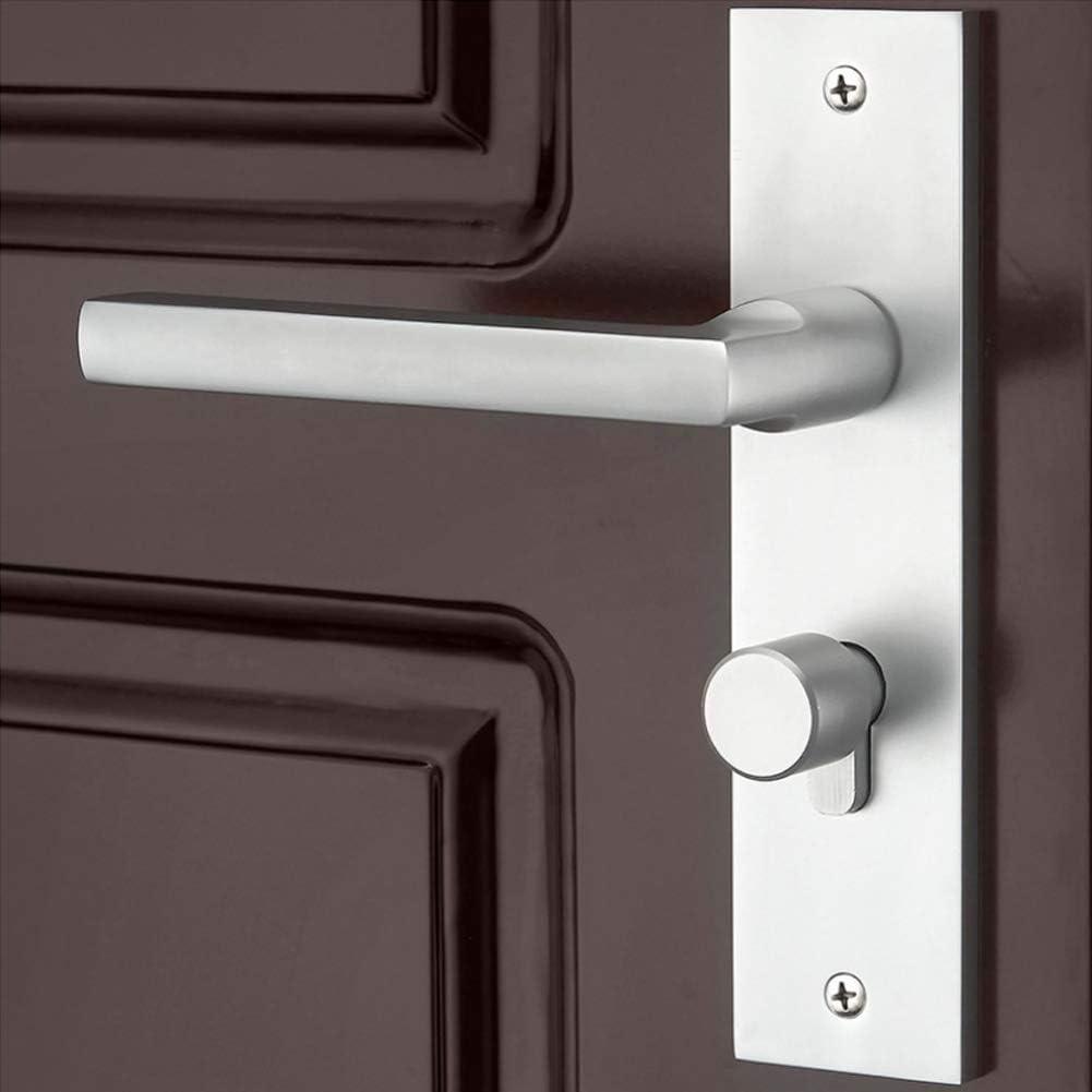 adecuadas para Todo Tipo de Puertas de Madera Puertas de Dormitorio Byged Juego de Cerradura de Seguridad mec/ánica Viene con Llaves a Juego