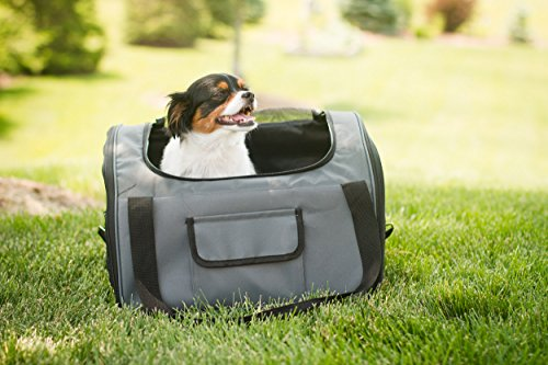 Iconic Pet FurryGo Luxury Booster Seat, Small, Dark Grey by Iconic Pet (Image #9)