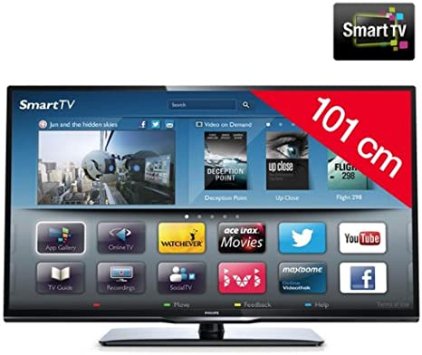 Philips 40PFL3208H/12 - Televisor LED Smart TV: Amazon.es: Electrónica
