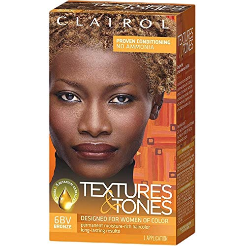 Clairol Professional Textures and Tones Permanent Hair Color, Bronze