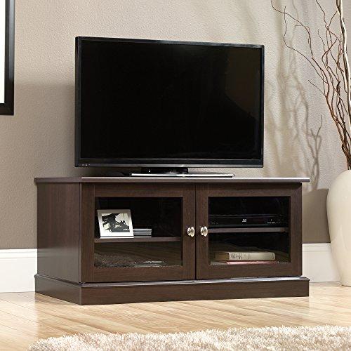 sauder tv stand cherry - 9