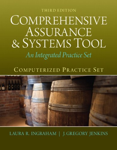Book cover from Computerized Practice Set for Comprehensive Assurance & Systems Tool (CAST) (3rd Edition)by Laura R. Ingraham