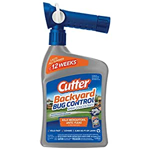 Cutter Backyard Bug Control Spray Concentrate (HG 61067) (32 Fl Oz)
