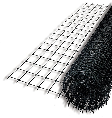 Tenax 1A120243 Select Deer Control Fence, 6 ft x 100 ft, Black ()