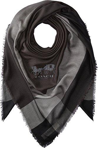 COACH Women's Year Round Windowpane Black/Black One Size by Coach