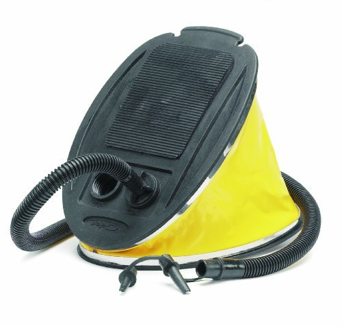 Gelert Footpump - Yellow/Black , 5lt by Gelert