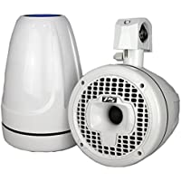 Power Sports 500 Watts Wakeboard Tower Dual Front and Rear Speakers, 6-Inch - White