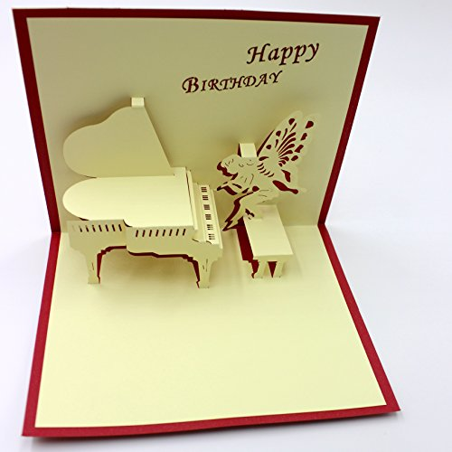Angel Birthday Cards - 5