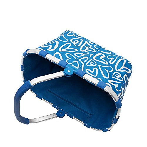 Azul Frame carrybag Black Hearts Funky Gold Reisenthel 1HFZ0nSS