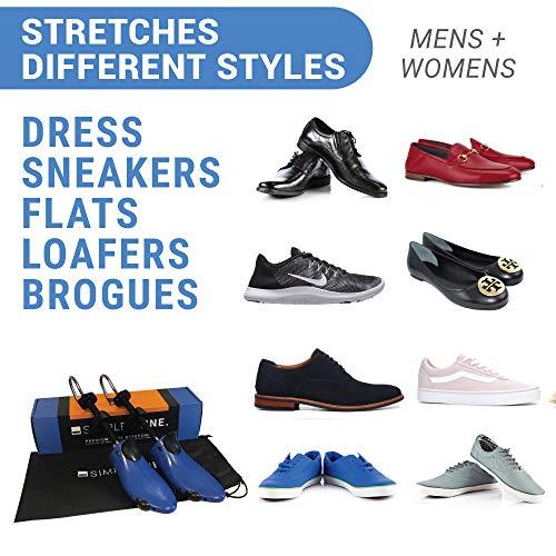 Premium Pair Shoe Stretchers 2 Way Stretcher Men Women Wide Feet Stretch Medium by Simple Shine (Image #4)