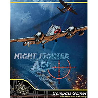 CPS: Night Fighter Ace, Air Defense Over Germany 1943-4, Boardgame: Toys & Games