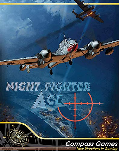Aces Solitaire - CPS: Night Fighter Ace, Air Defense Over Germany 1943-4, Boardgame