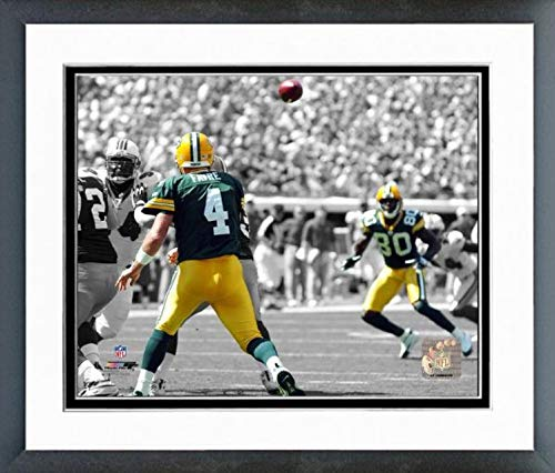 Brett Favre & Donald Driver Green Bay Packers Spotlight Action Photo (Size: 12.5