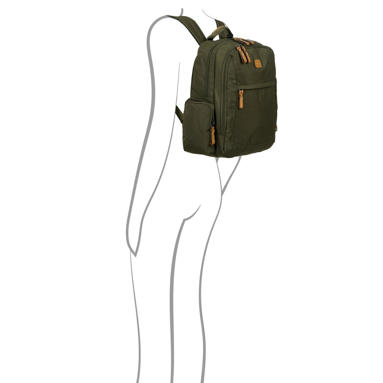 Bric's X-Bag/x-Travel 2.0 Nomad Laptop|Tablet Business Backpack, Navy, One Size by Bric's (Image #6)