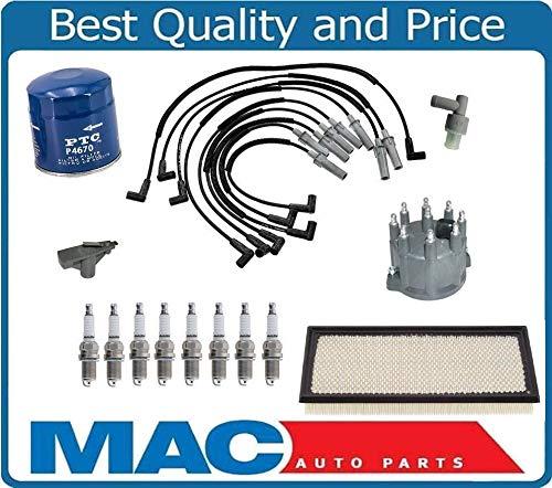 New Spark Plug Wires Cap Rotor Platinum Plugs for 97-02 Dodge Dakota 5.2L 5.9L by Mac Auto Parts
