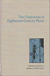 The Chalumeau in Eighteenth-Century Music