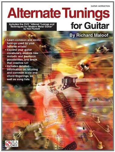 Alternate Tunings Guitar - Alternate Tunings for Guitar: Includes the DVD Altered Tunings and Techniques for Modern Metal Guitar