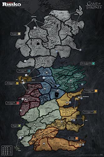 Winning Moves Risiko Game of Thrones Collector's Limitierte große Deluxe Edition GoT Brettspiel - Deutsch