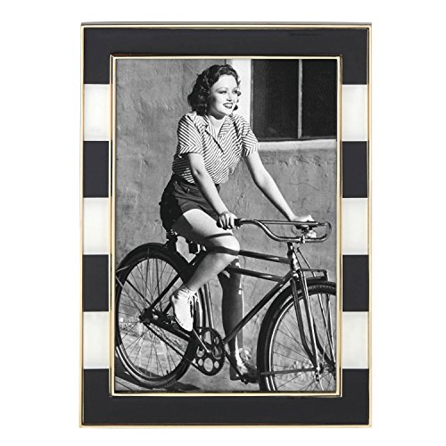 Kate Spade New York Everdone Lane 4x6 Picture Frame, Gold-Plated Metal