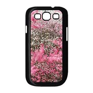 Kweet Flower Samsung Galaxy S3 Case Cherry Blossoms Japan, Flower, {Black}
