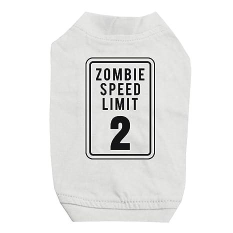 365 - Camiseta para Perros y Gatos pequeños con impresión Zombie ...