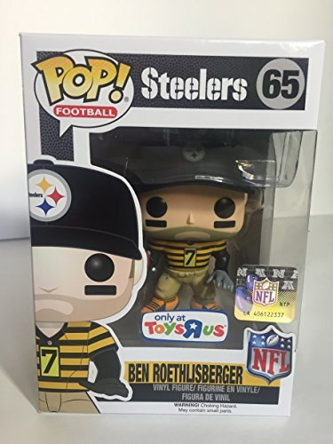 Funko POP! NFL Ben Roethlisberger Toys R Us Exclusive Steelers Throw Back Jersey Figure