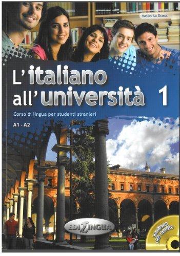 L'Italiano All'Universita: Libro + CD-Audio 1 (Level A1-A2) (Italian Edition) by La Grassa Matteo (2011-03-25)